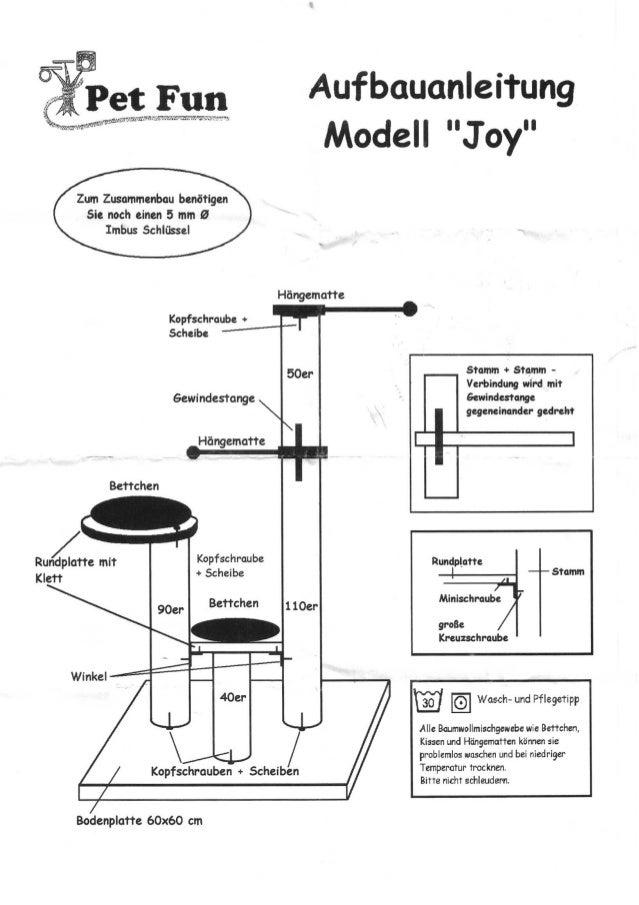 Istruzioni Montaggio Joy Pet Fun