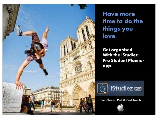 Print Advertisements for iStudiez App