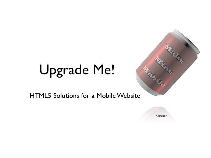 Why HTML5?