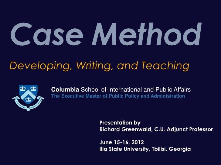 Isu case study presentation