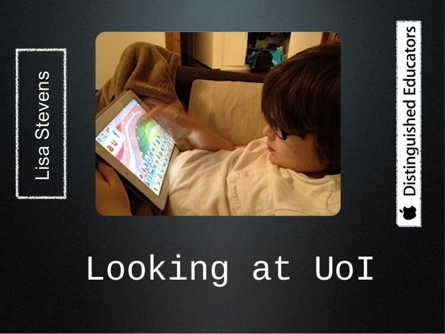 iPads and Units of Inquiry