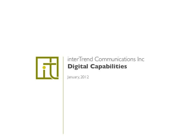 interTrend Digital Capabilities