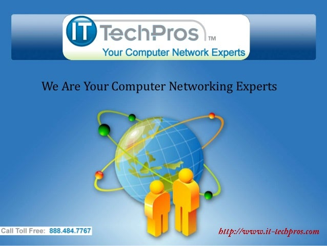 We Are Your Computer Networking Experts