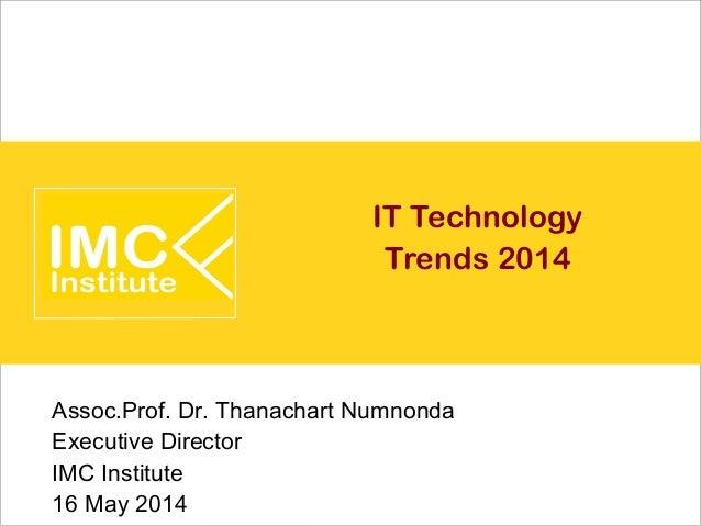 IT Technology Trends 2014