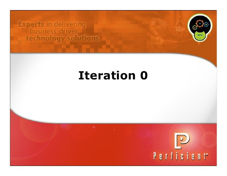 Agile - Iteration 0 CodeMash 2010