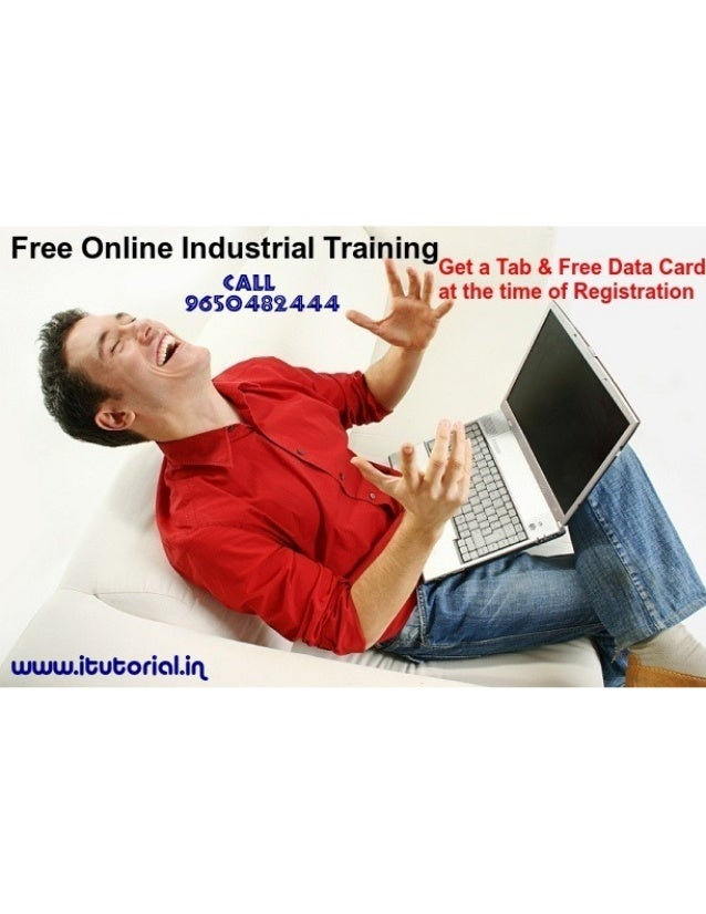 Online 6 Months Project Based Industrial Training & Get a Tab and Data Card free @+91- 9650482444