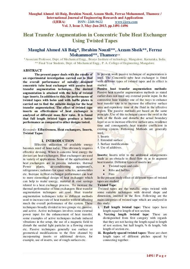 Maughal Ahmed Ali Baig, Ibrahim Nouzil, Azzam Sheik, Ferraz Mohammed, Thameez /International Journal of Engineering Resear...