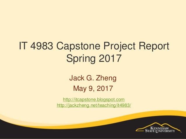 SPSU IT 4983 Capstone Projects Report 2012-2014