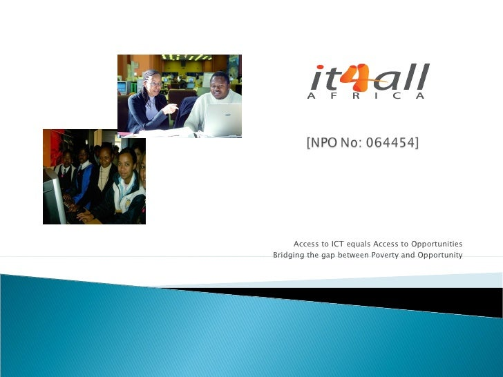 It4 All Organisational Outline
