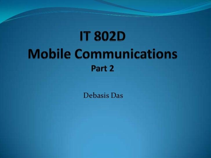 It 802 d_Mobile Communications_part 2
