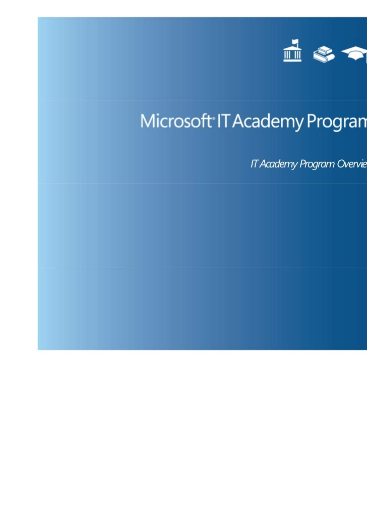 IT Academy Overview