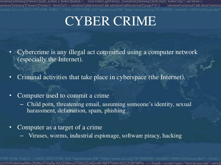 Cyber Crime Amp Cyber Law