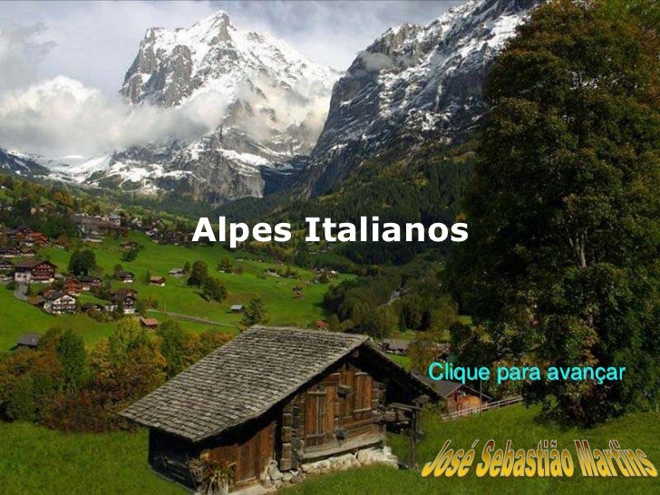 Italia alpes.