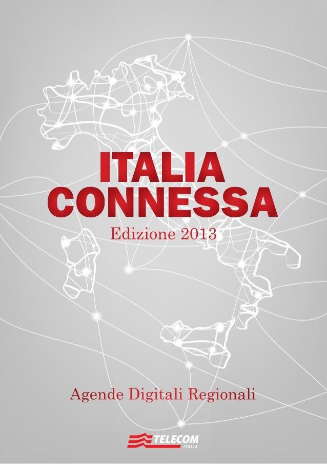 Agende Digitali Regionali Telecom Italia Dicembre 2013122  Edizione 2013