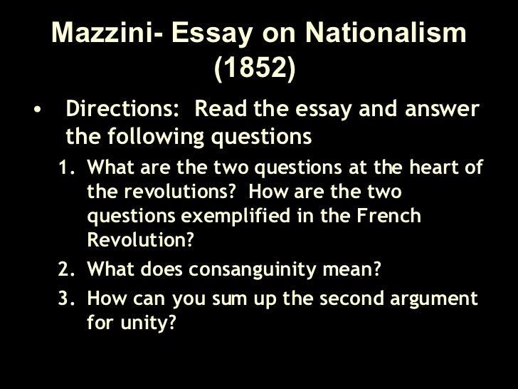 german nationalism essays