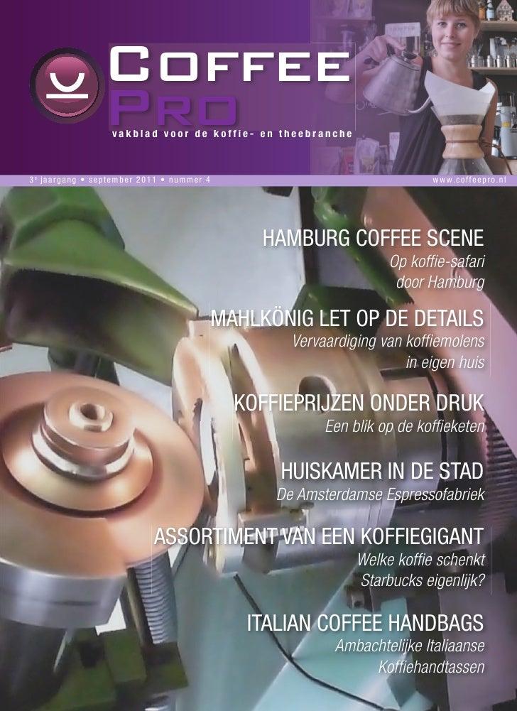Italian Coffee Handbags in de CoffeePro nummer4 september2011