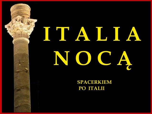 ITALIA NOCTURNA