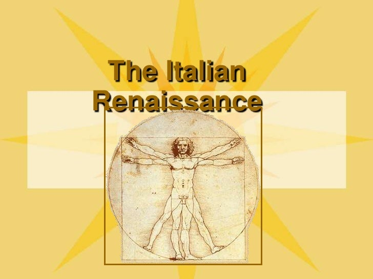 The Italian Renaissance<br />