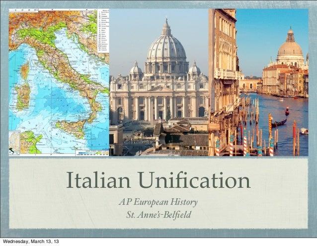 Italian unification 1213