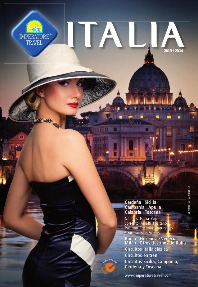 Catalogo Italia - Hispania Imperatore Travel