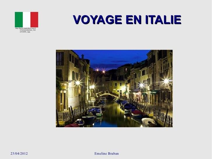 http://farm4.staticflickr.com/3                                        VOYAGE EN ITALIE          579/3443494522_725       ...