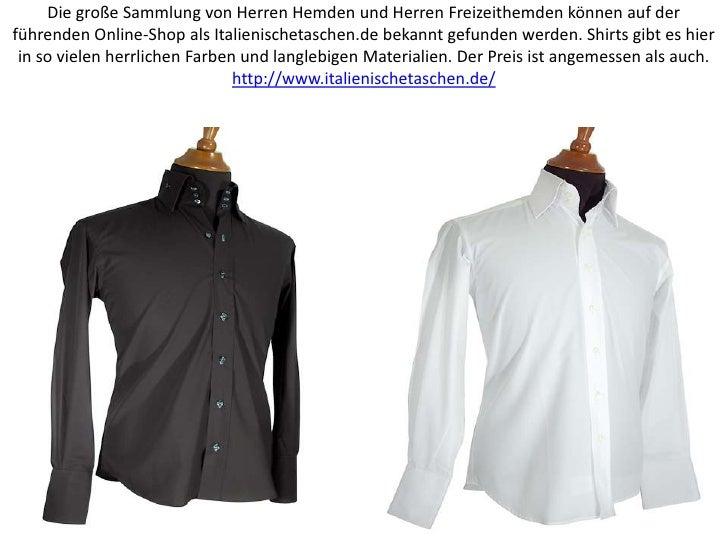 Die große Sammlung von Herren Hemden und Herren Freizeithemden können auf der führenden Online-Shop als Italienischetasche...