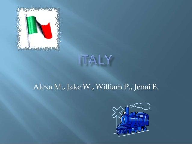 Alexa M., Jake W., William P., Jenai B.