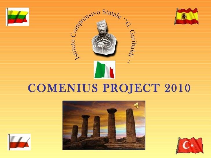 COMENIUS PROJECT 2010
