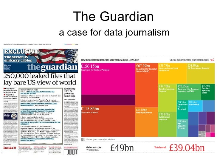 The Guardian a case for data journalism