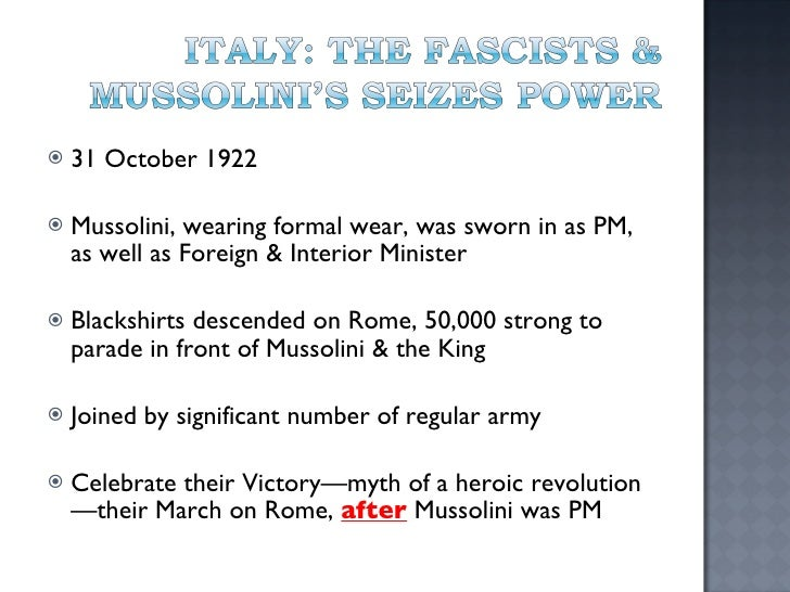 Why was Socialism feared in 1922+ in Italy?