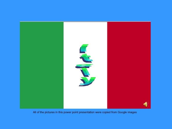 Italy Slide Show