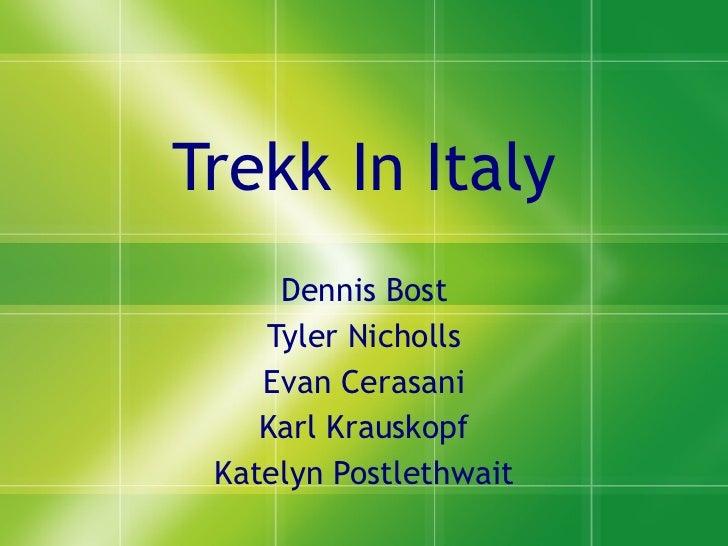 Italy trekk sports