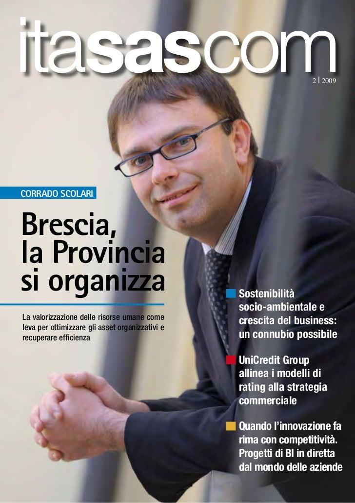 itasascom                                                             2   2009Corrado ScolariBrescia,la Provinciasi organi...