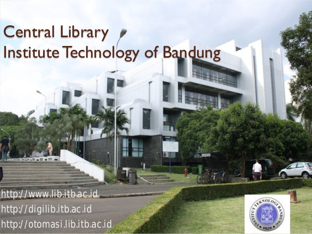 Itb central library user education for international students