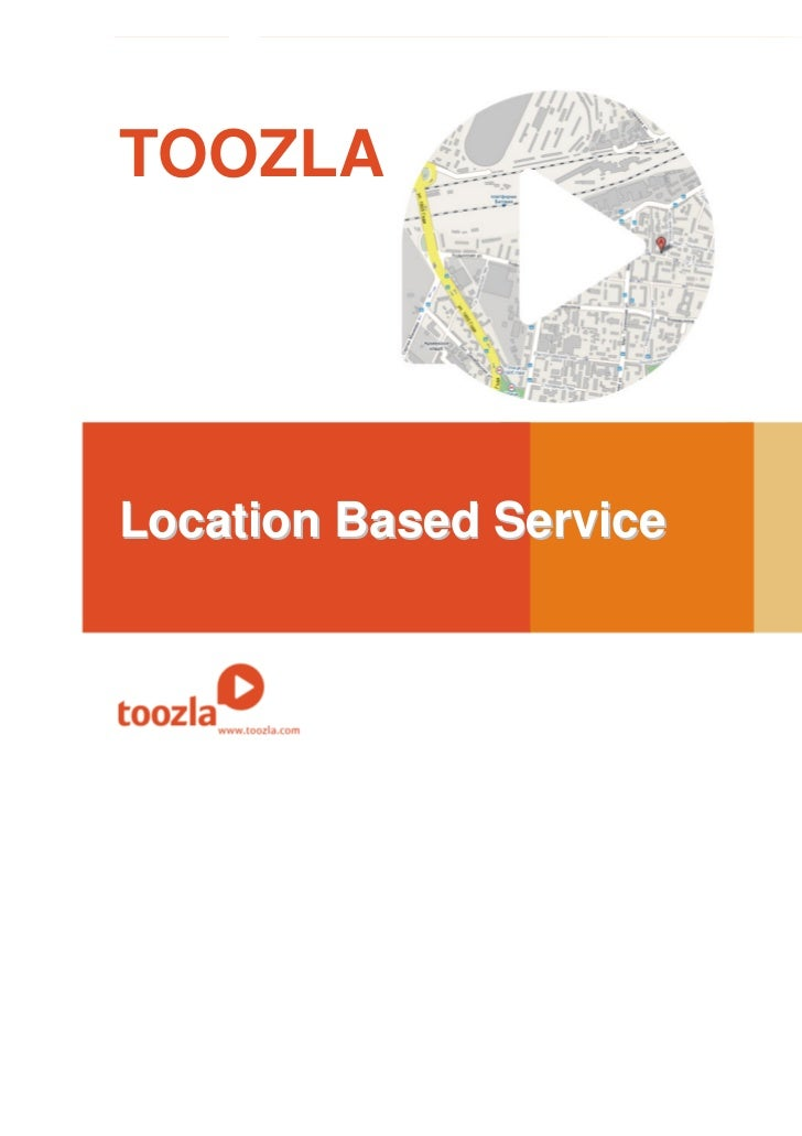 TOOZLALocation Based Service