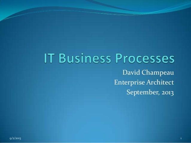 It business processes   EA, SA and SOA together