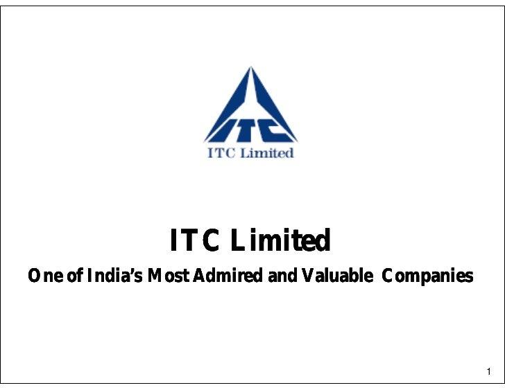 Itc corporate-presentation
