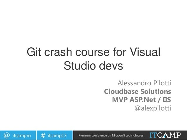 Git crash course for Visual Studio devs