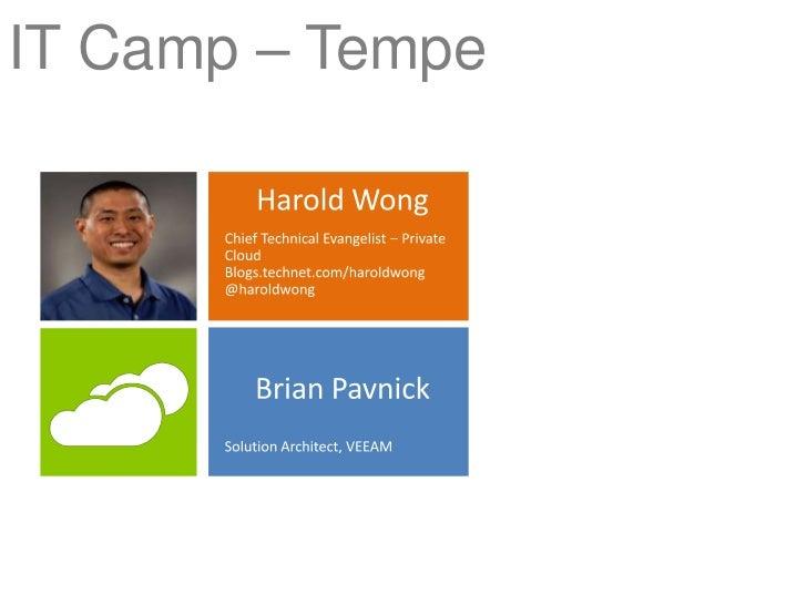 IT Camp Opening - Phoenix / Tempe