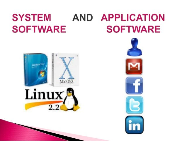 types of system software and application software pdf