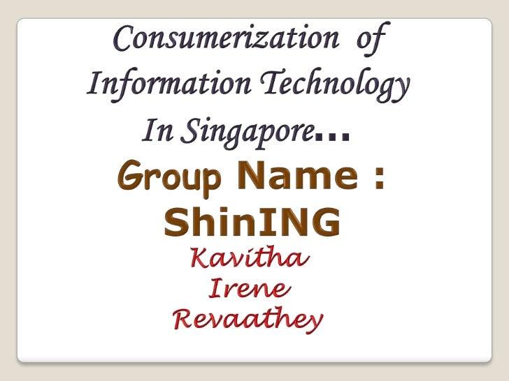 It  consumerisation presentation