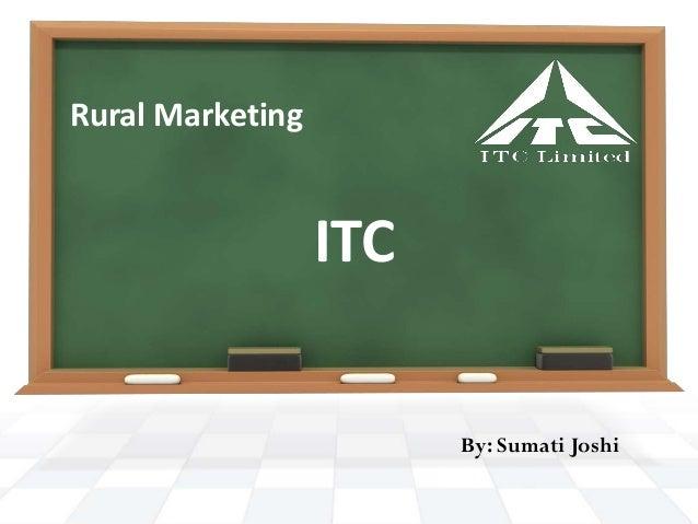 ITC Rural Marketing