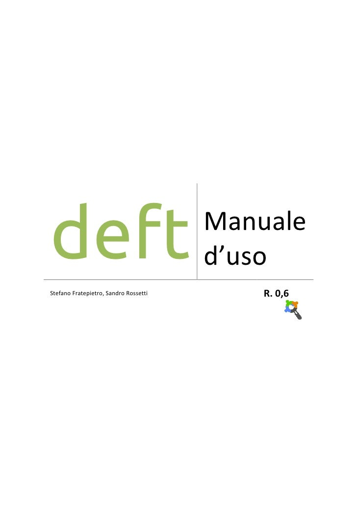 [It]deft manuale full
