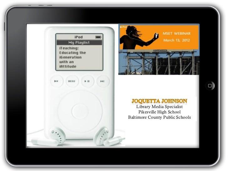 iTeaching MSET Webinar
