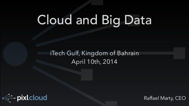 Raffael Marty, CEO Cloud and Big Data iTech Gulf, Kingdom of Bahrain April 10th, 2014