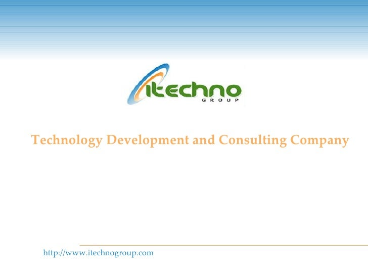 iTechnogroup - Company Synopsis