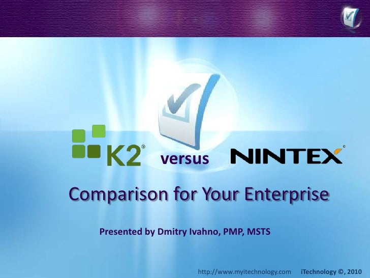 This presentation is no longer available: <br />versus<br />Presented by Dmitry Ivahno, PMP, MSTS<br />For more informatio...
