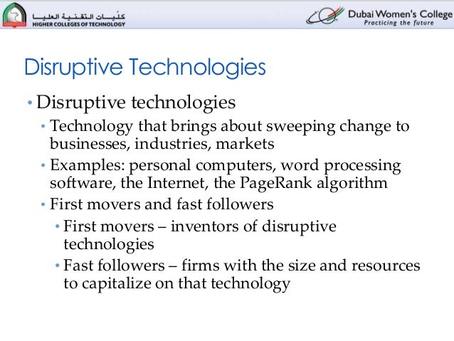 case study 2 - is the ipad a disruptive technology Case analysis – apple inc in disruptive technology and increasing returns the ipad is not a technology currently capable of disrupting the pc industry.