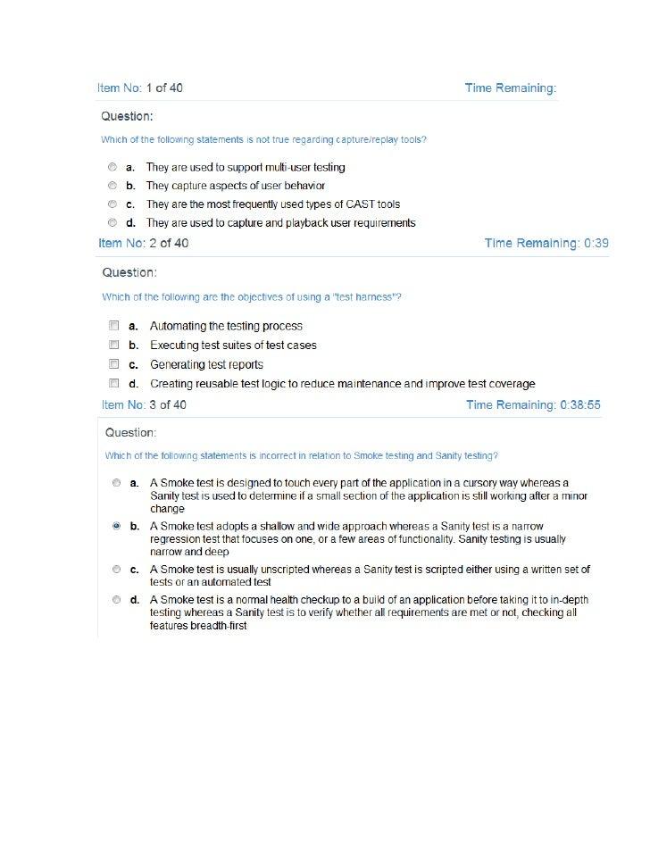 Đề thi mẫu 1(ISTQB)