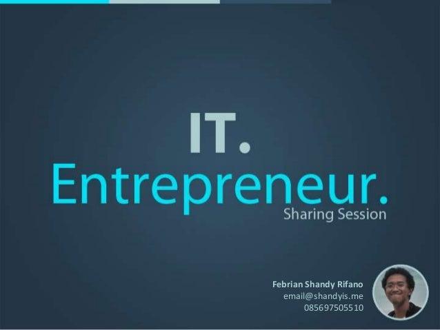 IT Entrepreneur